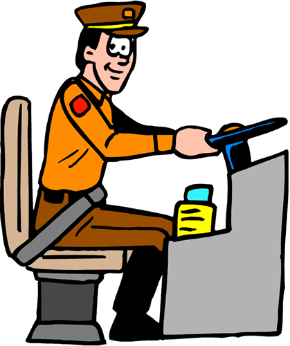 Driver clipart. Bus images gallery for
