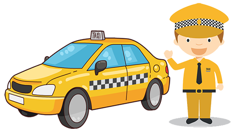 Driver clipart. Download free png taxi