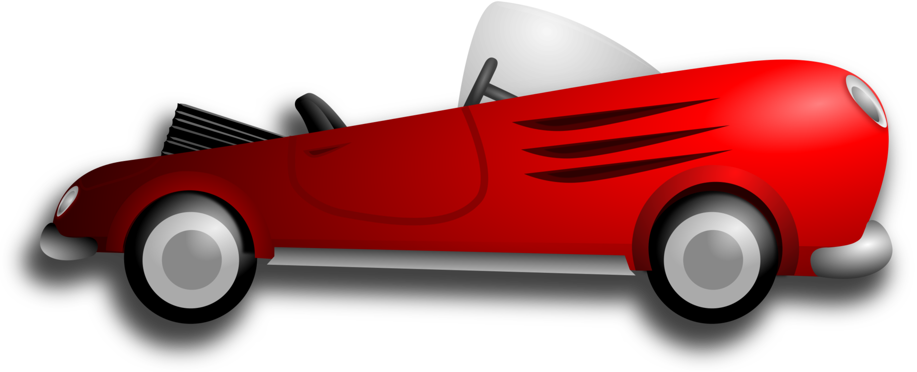 Classic clipart red classic car. Sports driving vintage free