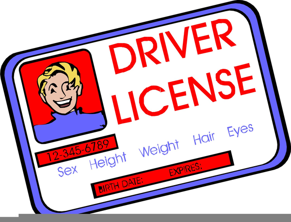 Driver clipart liscense. Drivers licence free images