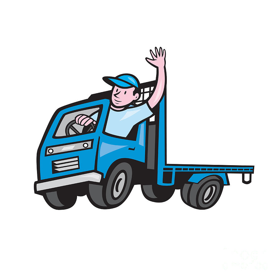 Driver clipart truck driver. At getdrawings com free