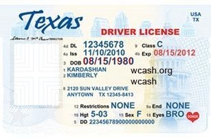 Drivers license clipart template psd. Texas the free website
