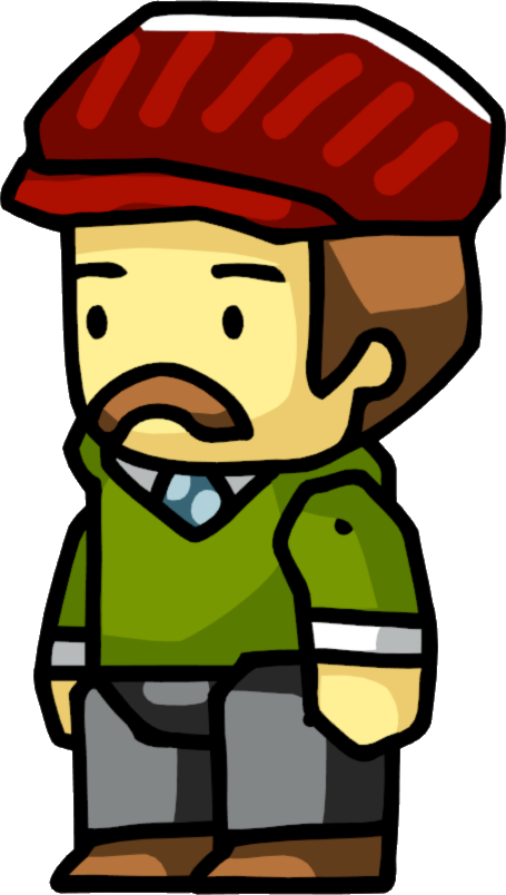 Scribblenauts wiki fandom powered. Driving clipart cab driver picture black and white