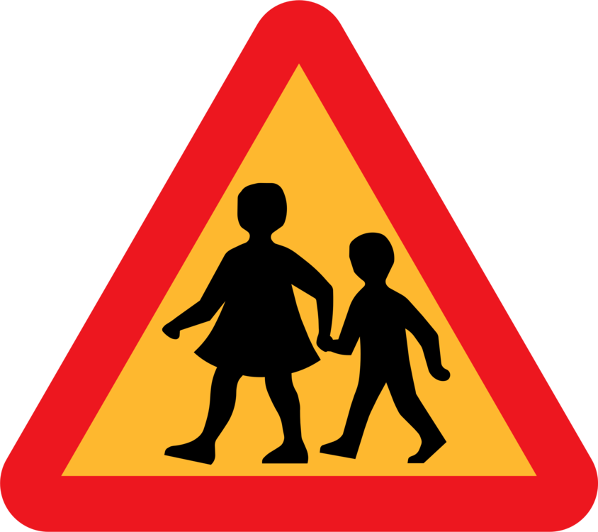Traffic sign computer icons. Driving clipart child jpg library library