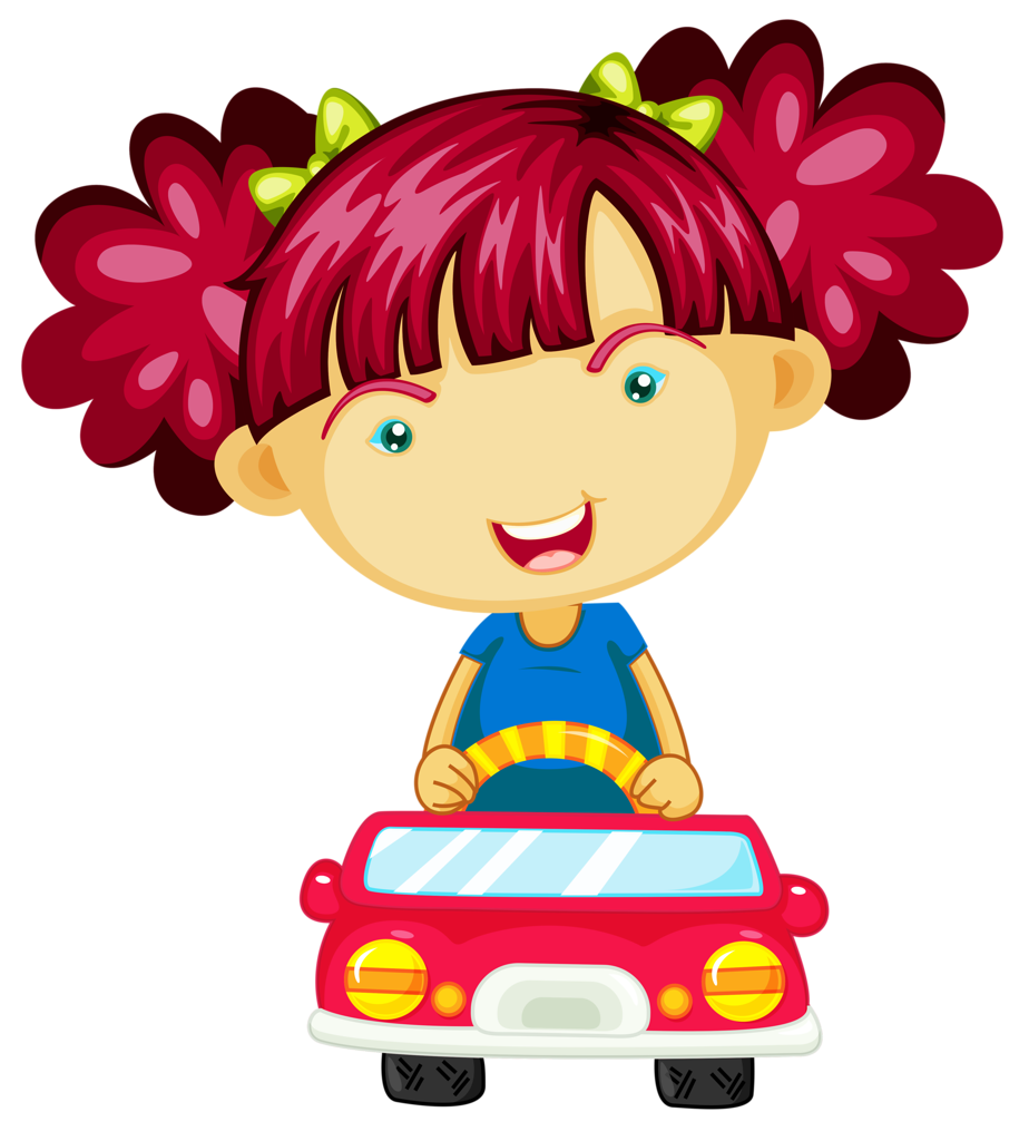 Driving clipart child. Png clip art