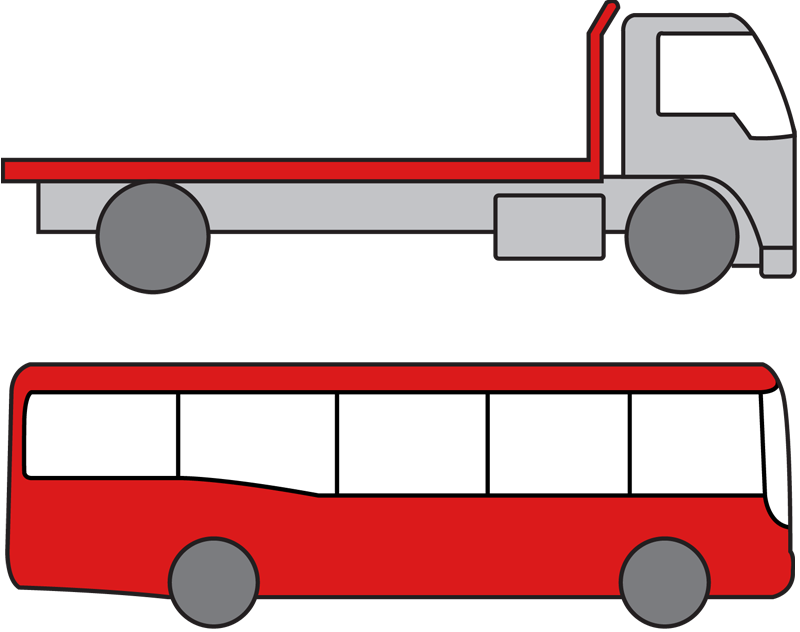 Bfs truck centre is. Driving clipart driver training jpg library