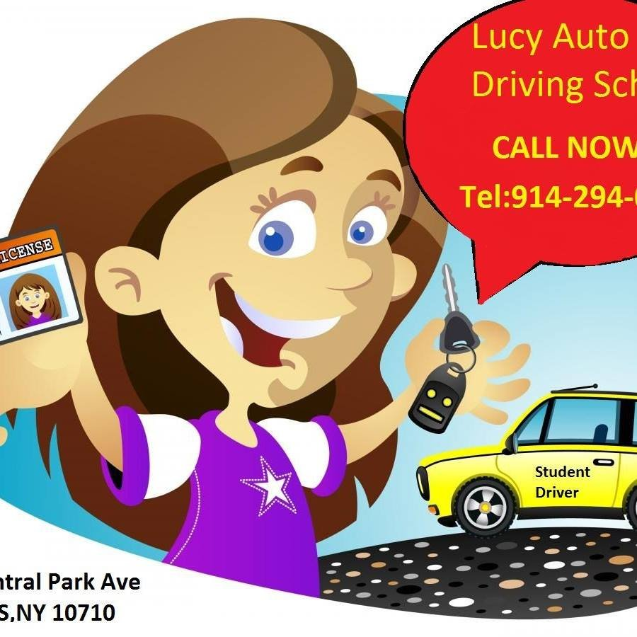 Driving clipart driver training. Lucy auto school schools