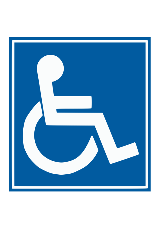 Driving clipart parking pass. Disabled permit disability wheelchair