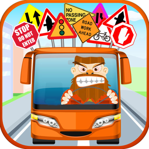 Driving clipart parking pass. Angry bus driver test