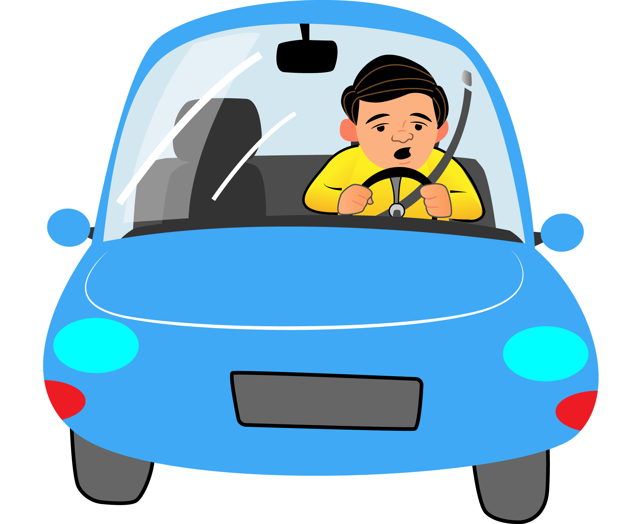 How to do more. Driving clipart sleepy driver picture library library