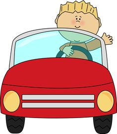 Driving clipart small car. Truck driver at getdrawings