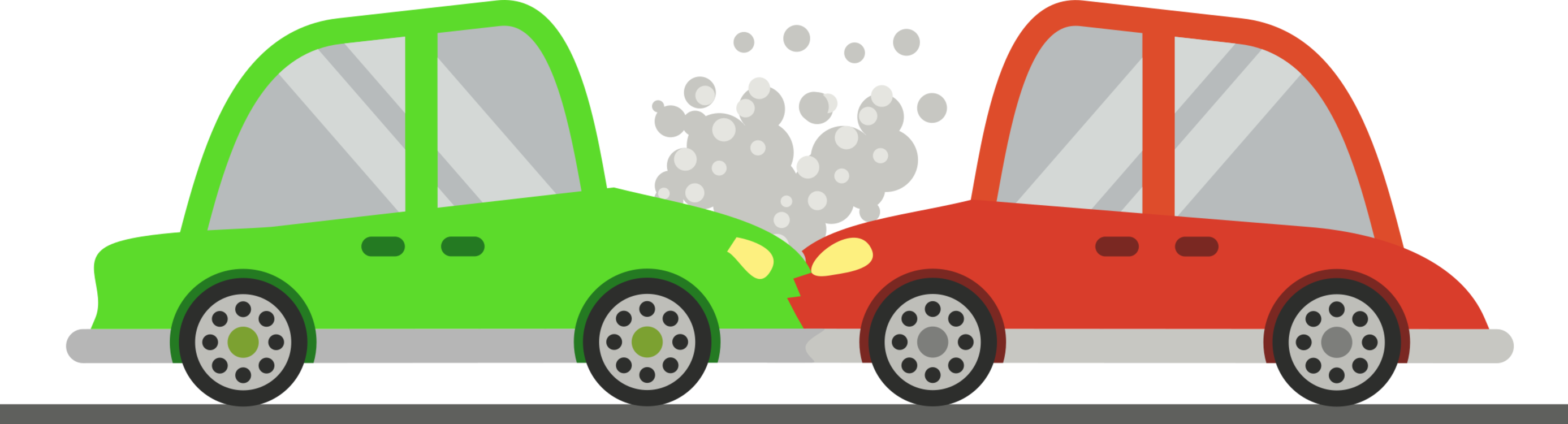 Compact traffic collision vehicle. Driving clipart small car png library library