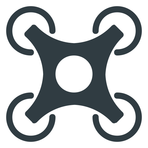 Vector drones png. Technology drone fly block