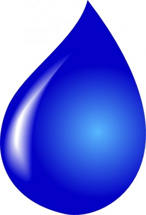 Drop clipart. Water free