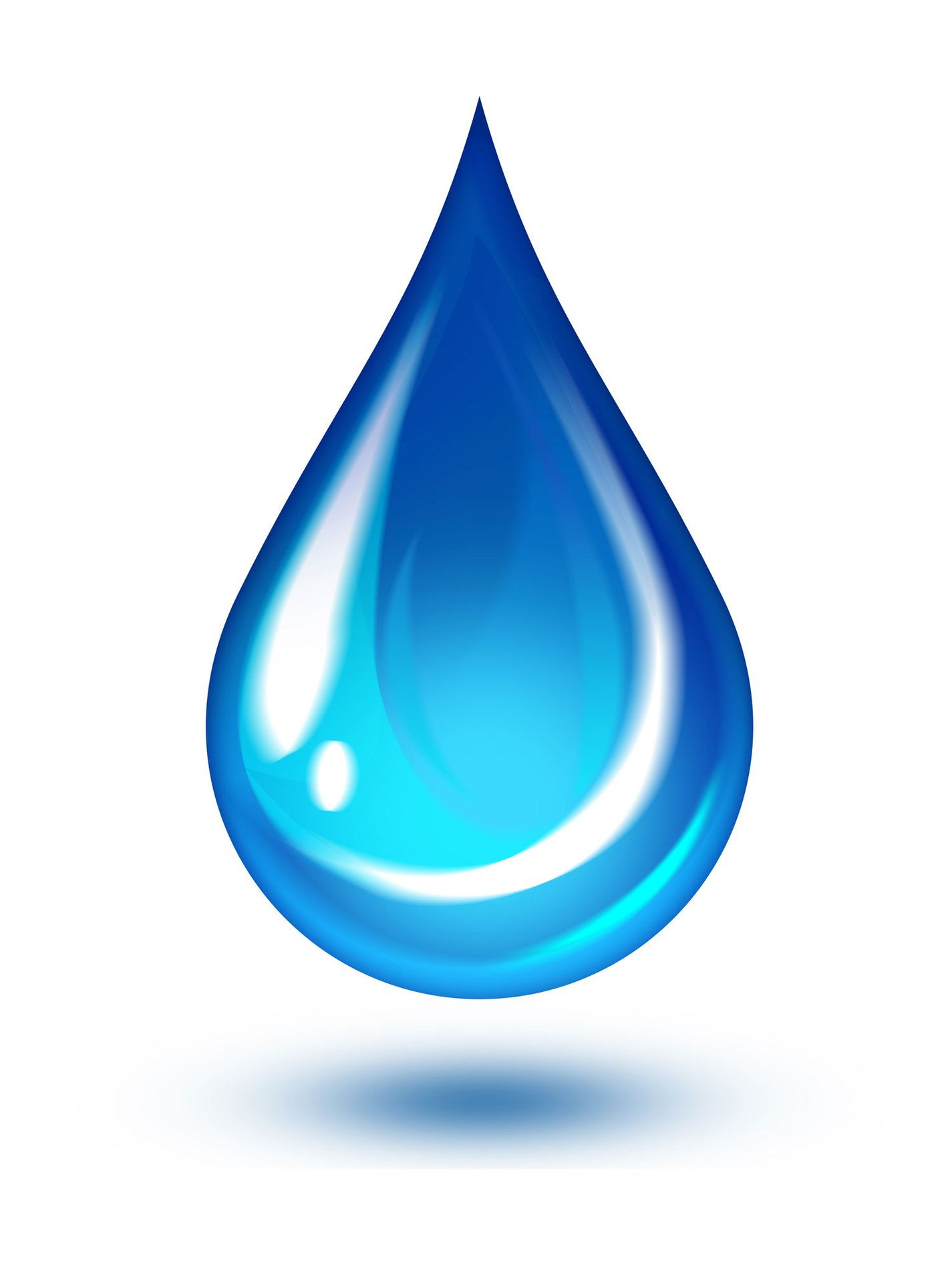 Drop clipart. Water symbol free to