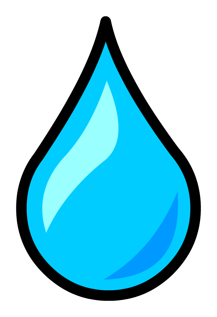 Water cartoon png. Free droplet clipart download