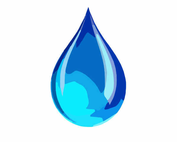 Drop clipart small water. Droplet icon clip art