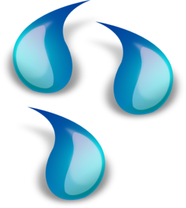 Droplet clipart water drop. Panda free images waterdropclipart