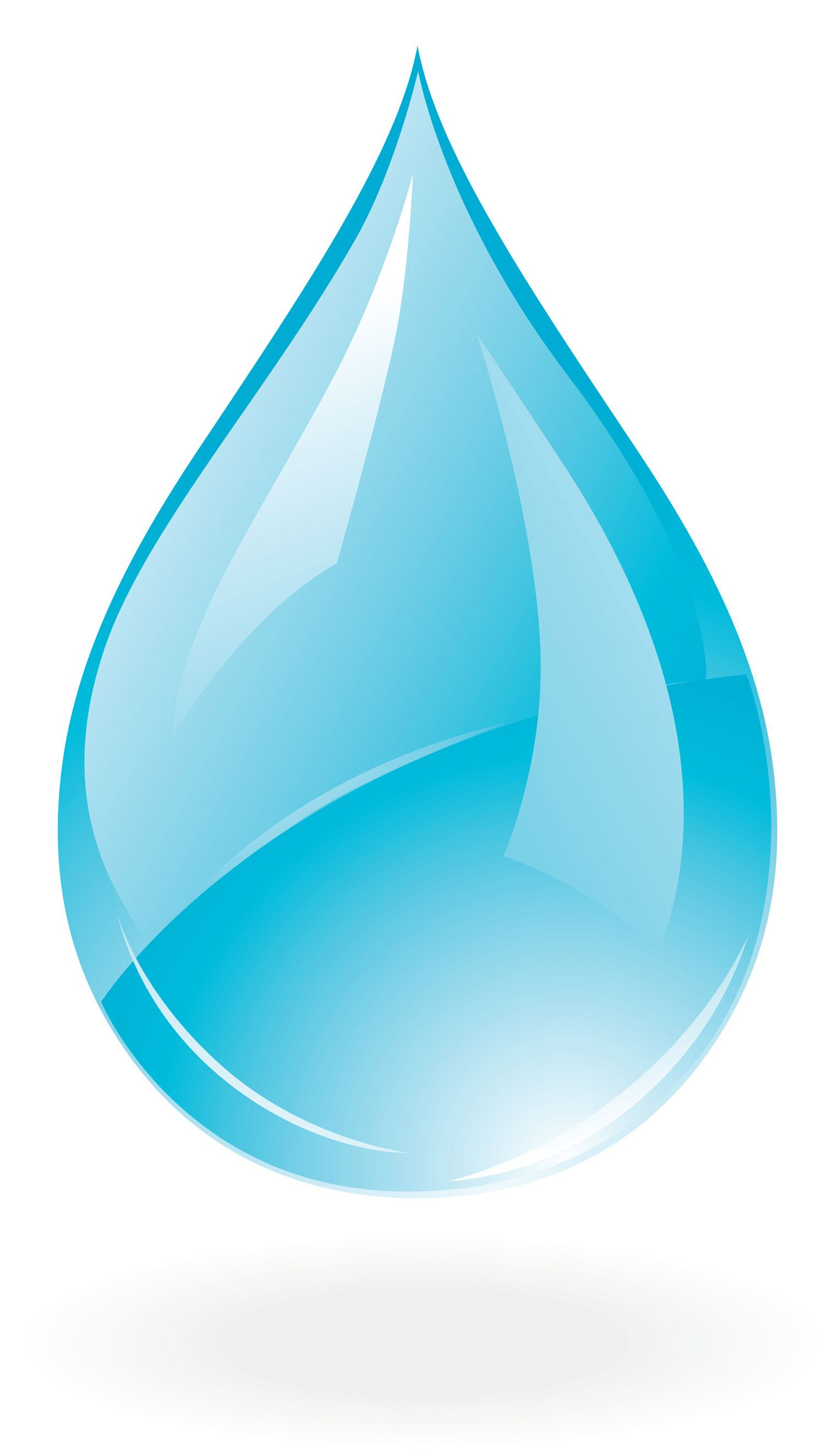 droplet clipart three water