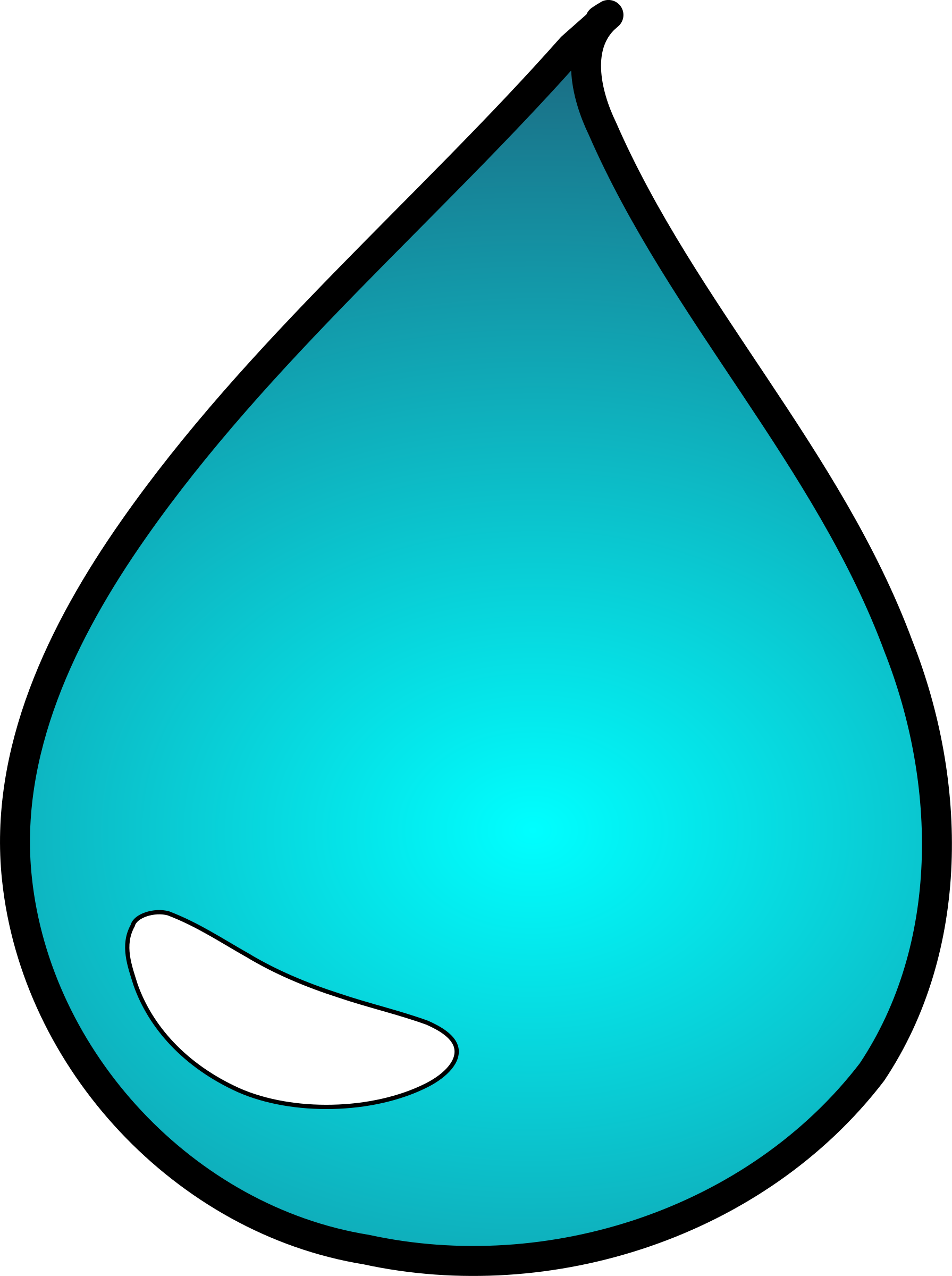 drops clipart water droplet