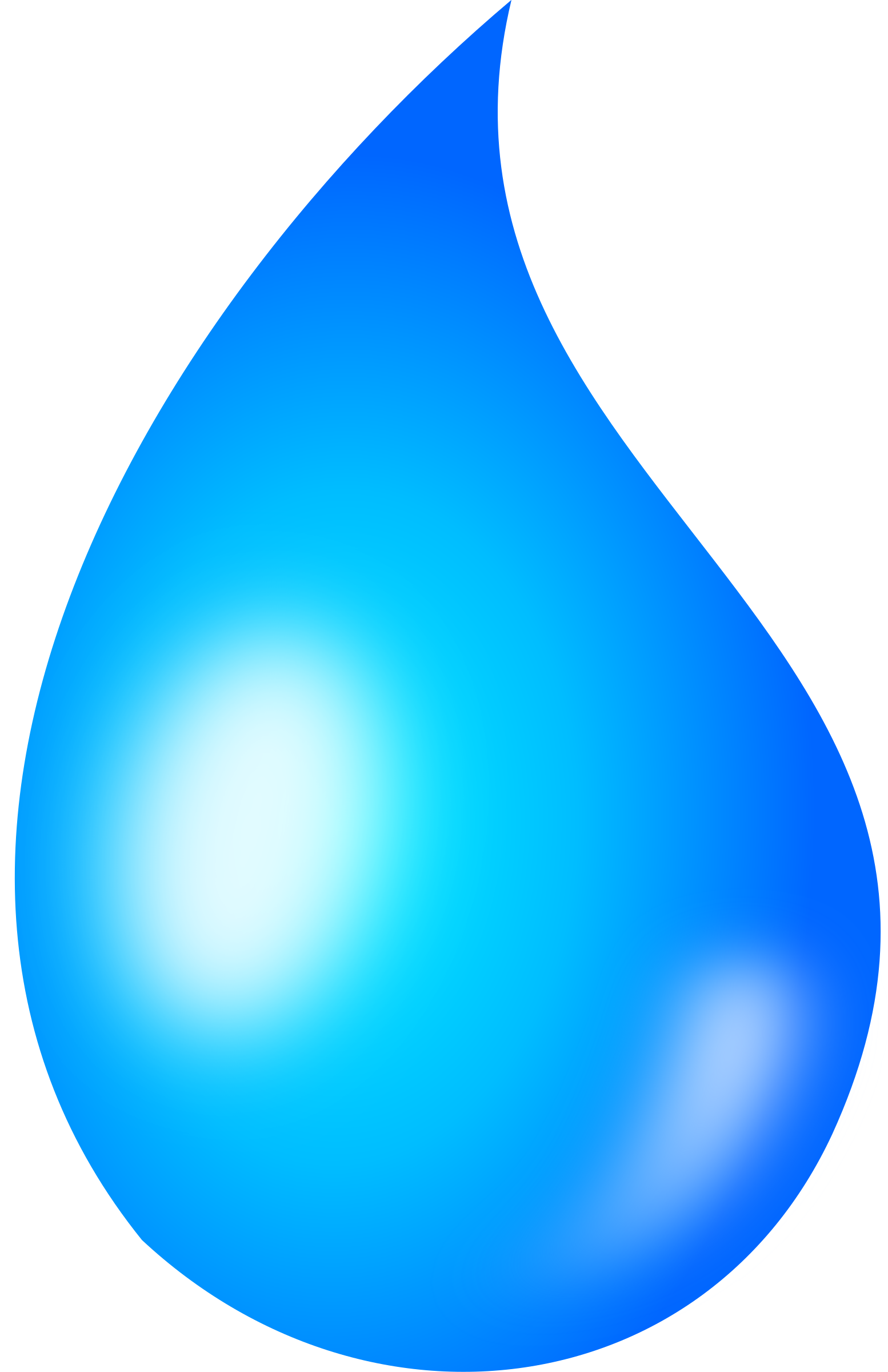 Water drop png. Clipart shaded big image