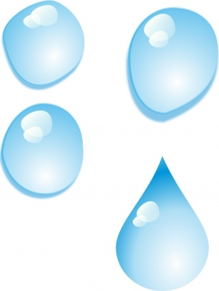 Droplet clipart water drop. Droplets panda free images