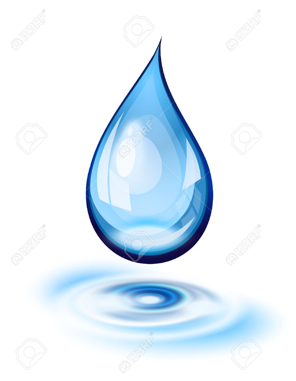 Droplet clipart water drop. Droplets ripple pencil and