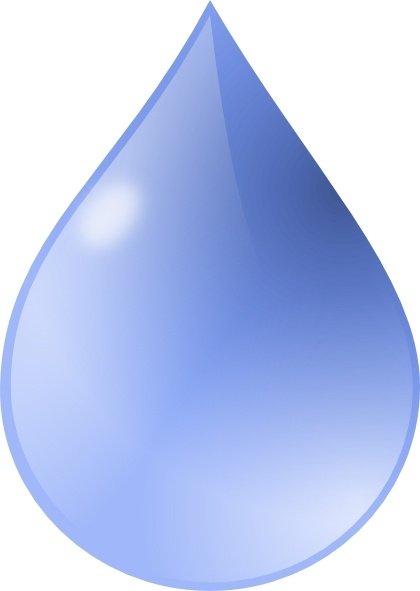 droplets clipart simple water