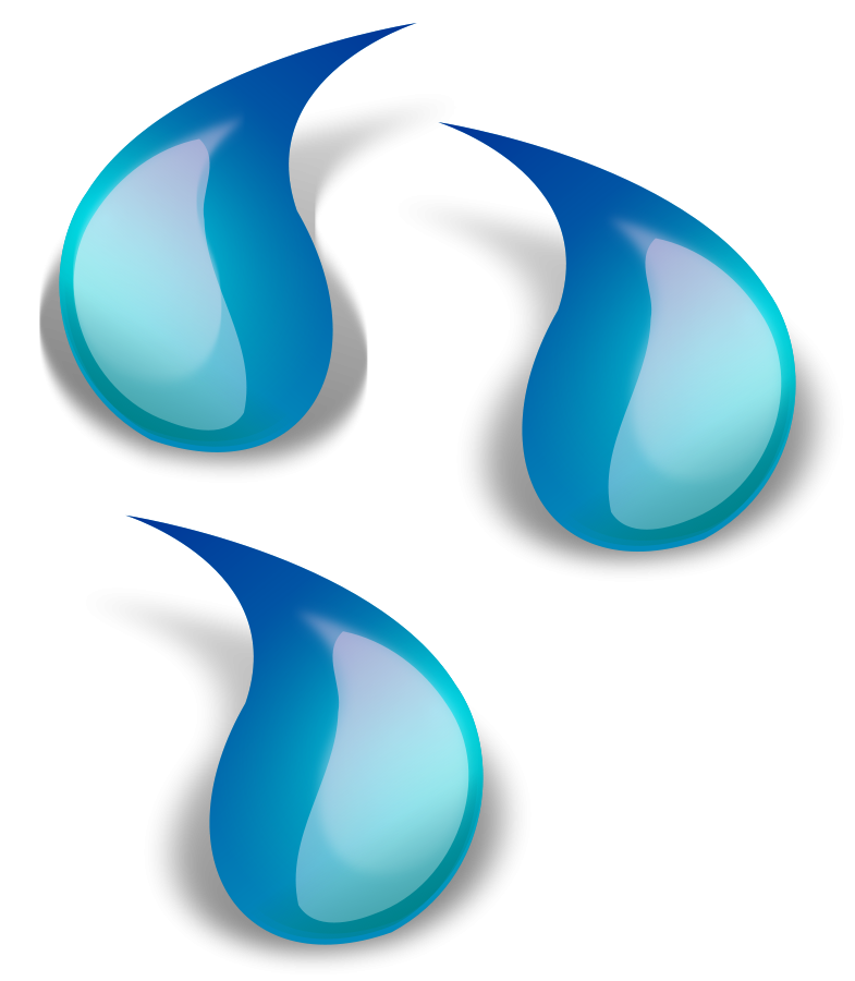 ai vector water drop