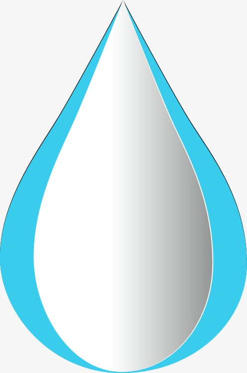 Droplets clipart three water. Exquisite dimensional fine threedimensional