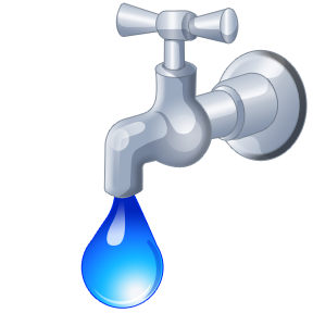 Faucet clipart. Free hot water cliparts