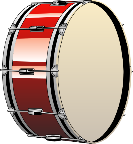 Drawing drums snare drum. Free set clipart download