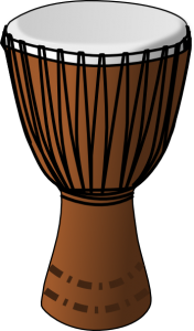 Drum clipart music thing. Djembe rhythm journey pinterest