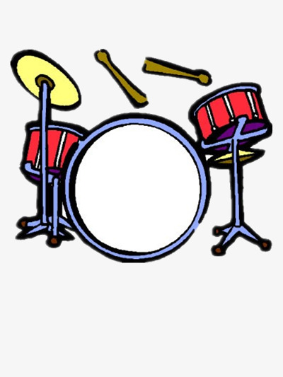 Drum clipart rhythmic. Band drums musical instruments