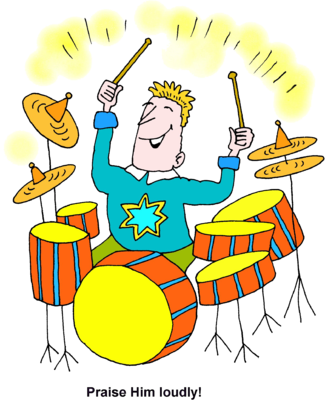 Drum clipart water drum. Image playing drums praise