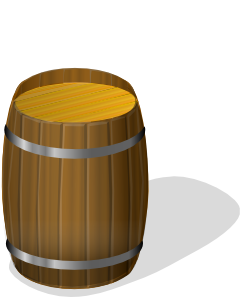barrel clipart oil barrel