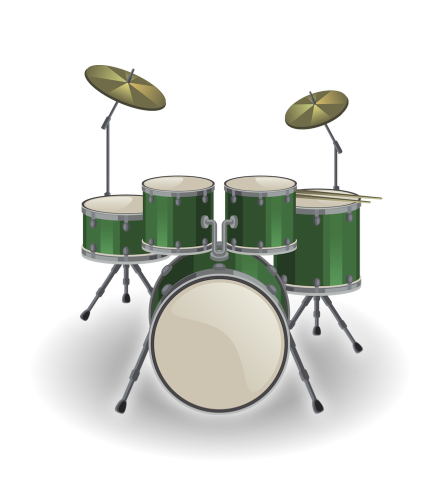 Drummer vector ramadan. Learn to code with