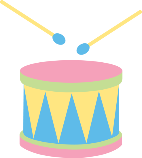 Drums clipart drumming. Pastel kids drum free