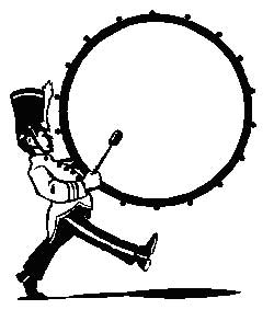Drums clipart marching band drum. Drummer