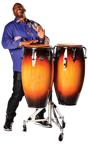 Drums instrument vectores png. Latin percussion we are