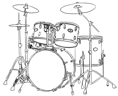 drawing drums draw