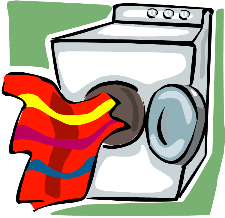 Dryer clipart cartoon. Clothes drying