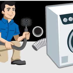 Dryer clipart dryer vent cleaning. Davis reviews air duct