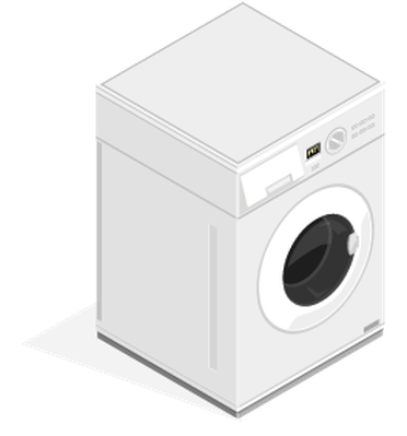 Dryer clipart washing machine. Isometric appliance pbs learningmedia