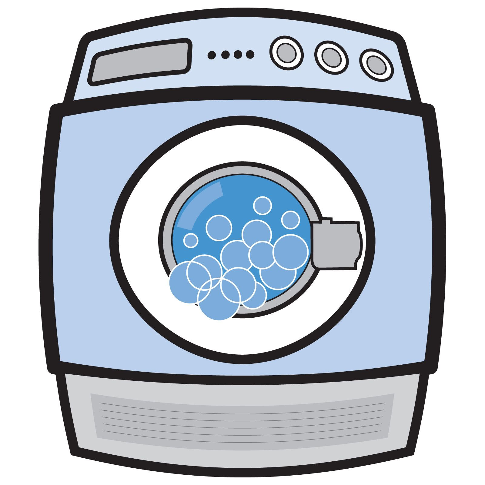 Dryer clipart washing machine. Leaves mysterious spots on