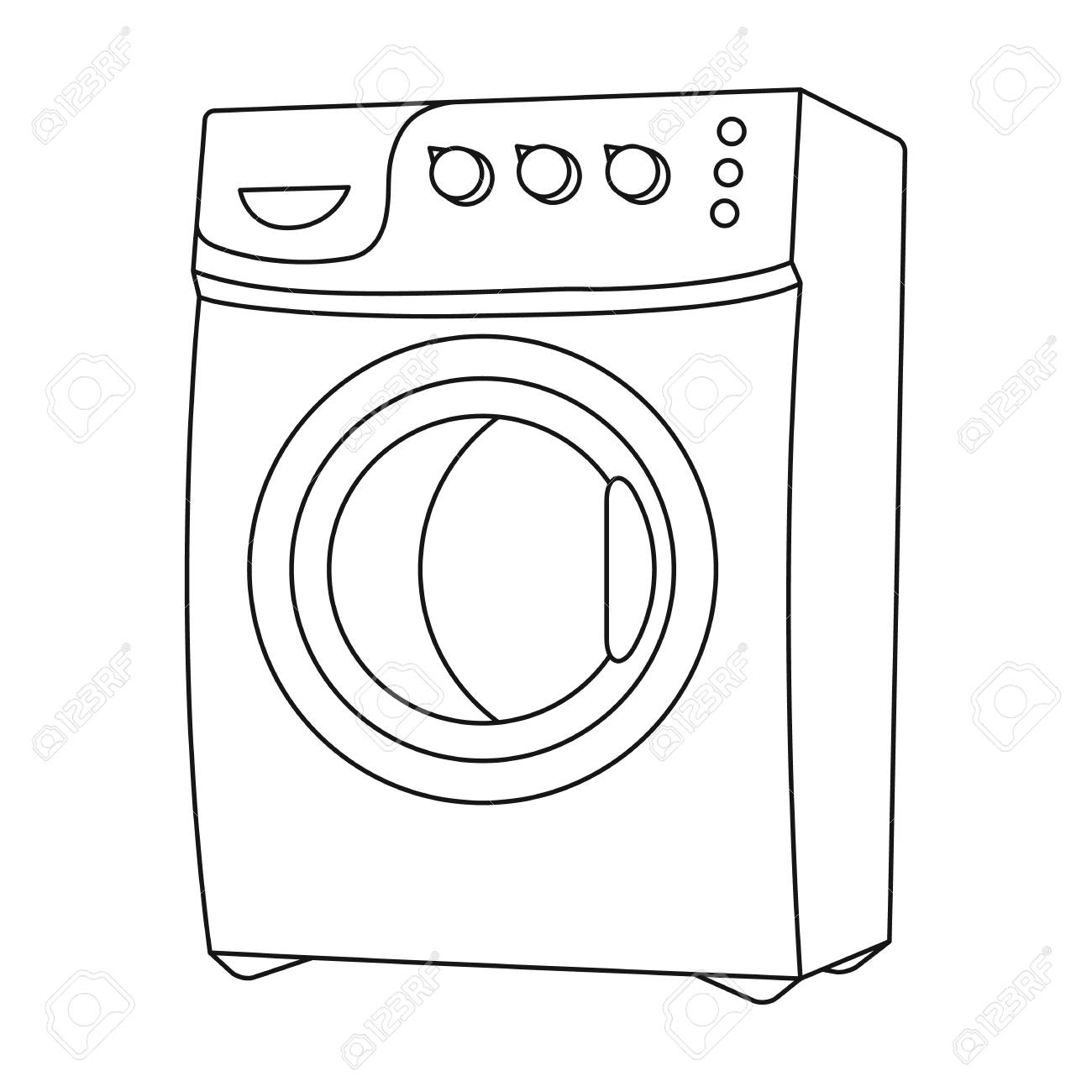 Dryer clipart washing machine. Drawing at getdrawings com