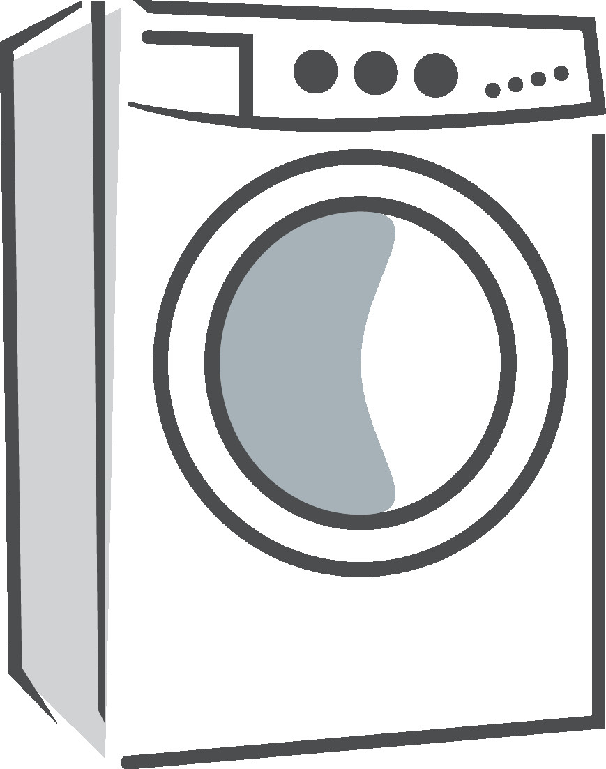 Dryer clipart. Clothes washing machines for