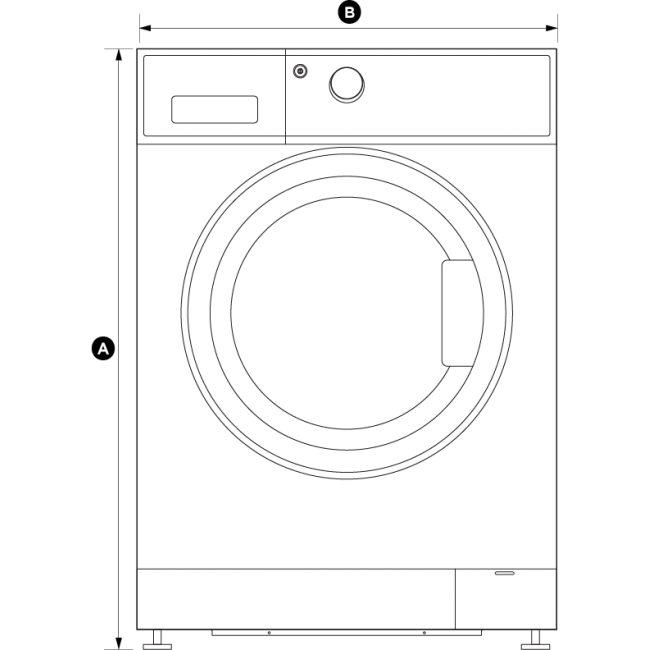 Dryer drawing clothes. Fisher paykel kg washsmart