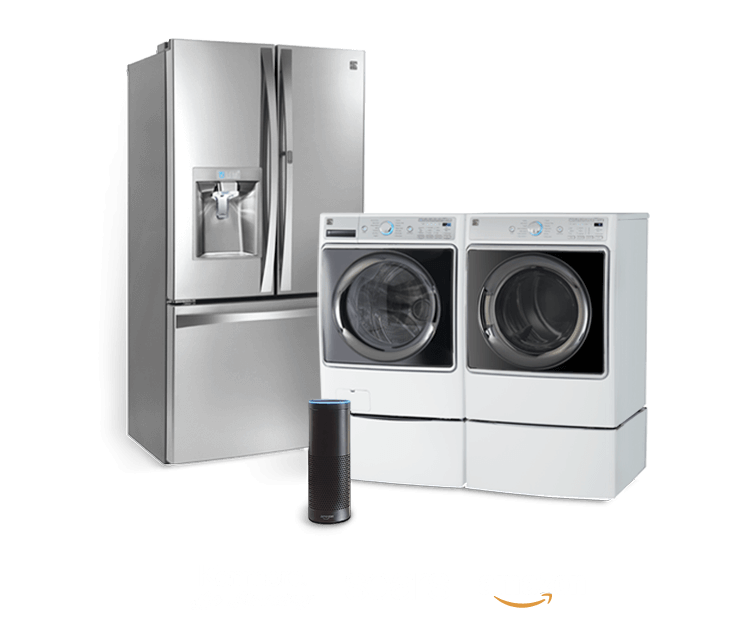 Appliances for kitchen laundry. Dryer drawing elite kenmore clipart black and white