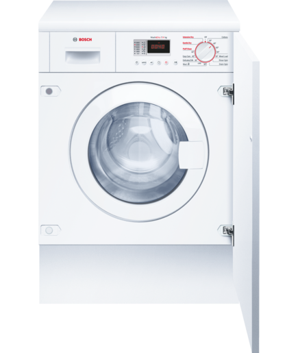 Dryer drawing washer. Fully integrated wkd gb